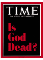 Time cover - Is God Dead?