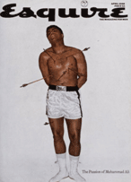 Esquire cover - Muhammad Ali