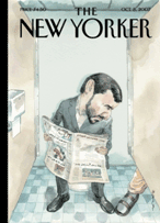 The New Yorker cover- Mahmoud Ahmadinejad