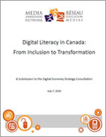 Digital Literacy in Canada: From Inclusion to Transformation