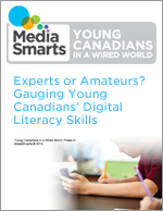 Experts or Amateurs? Gauging Young Canadians' Digital Literacy Skills