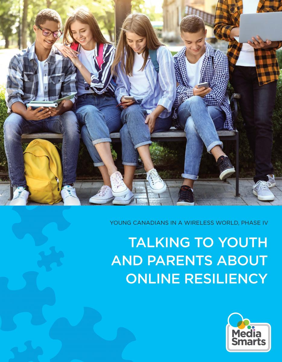 Talking to Youth and Parents about Online Resiliency
