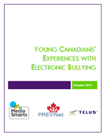 Young Canadians' Experiences with Electronic Bullying