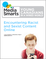 Encountering Racist and Sexist Content Online- Report cover